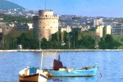 Thessaloniki from sea #01